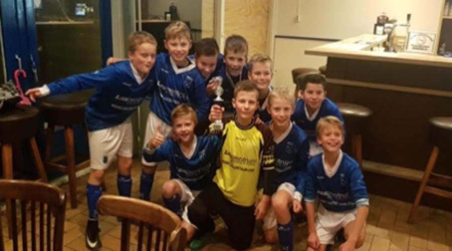 Rijsoord JO11-1 zijn Ridderkerks kampioen - Ridderkerks Dagblad