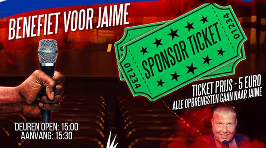 Artiesten Treden Op Voor Jayme In Sir